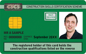 Construction Skills Certification Scheme, CSCS Green Card